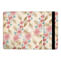 Background Page Template Floral Samsung Galaxy Tab Pro 10 1  Flip Case