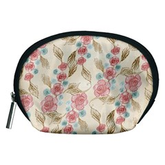 Background Page Template Floral Accessory Pouches (medium)