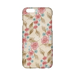 Background Page Template Floral Apple Iphone 6/6s Hardshell Case