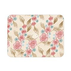 Background Page Template Floral Double Sided Flano Blanket (mini)