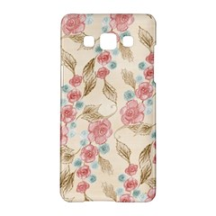 Background Page Template Floral Samsung Galaxy A5 Hardshell Case