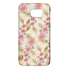 Background Page Template Floral Galaxy S6