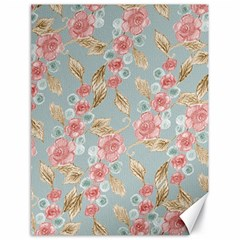 Background Page Template Floral Canvas 18  x 24