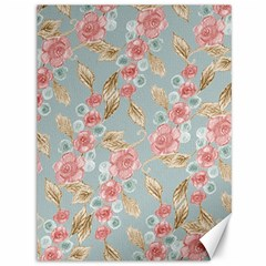 Background Page Template Floral Canvas 36  X 48