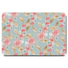 Background Page Template Floral Large Doormat