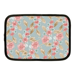 Background Page Template Floral Netbook Case (medium)