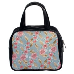 Background Page Template Floral Classic Handbags (2 Sides)