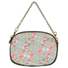 Background Page Template Floral Chain Purses (one Side)