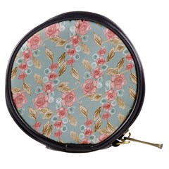 Background Page Template Floral Mini Makeup Bags