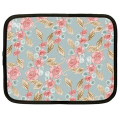 Background Page Template Floral Netbook Case (xl)