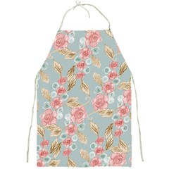 Background Page Template Floral Full Print Aprons