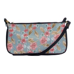 Background Page Template Floral Shoulder Clutch Bags