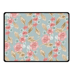 Background Page Template Floral Fleece Blanket (Small)