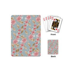 Background Page Template Floral Playing Cards (Mini)