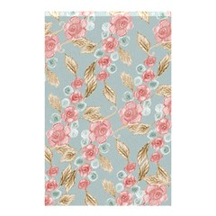 Background Page Template Floral Shower Curtain 48  X 72  (small)