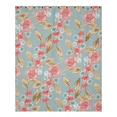 Background Page Template Floral Shower Curtain 60  X 72  (medium)