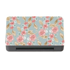 Background Page Template Floral Memory Card Reader With Cf