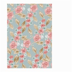 Background Page Template Floral Small Garden Flag (two Sides)