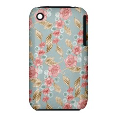 Background Page Template Floral Iphone 3s/3gs