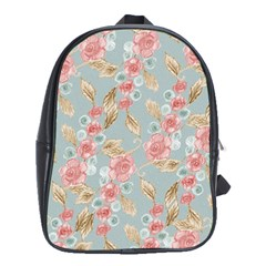Background Page Template Floral School Bags (xl)