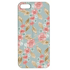 Background Page Template Floral Apple Iphone 5 Hardshell Case With Stand