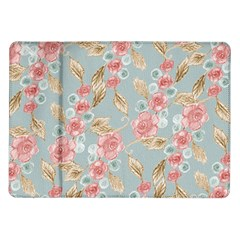 Background Page Template Floral Samsung Galaxy Tab 10 1  P7500 Flip Case