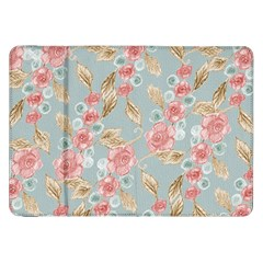 Background Page Template Floral Samsung Galaxy Tab 8.9  P7300 Flip Case
