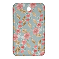 Background Page Template Floral Samsung Galaxy Tab 3 (7 ) P3200 Hardshell Case