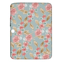 Background Page Template Floral Samsung Galaxy Tab 3 (10 1 ) P5200 Hardshell Case