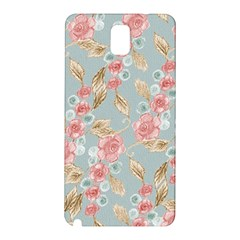 Background Page Template Floral Samsung Galaxy Note 3 N9005 Hardshell Back Case