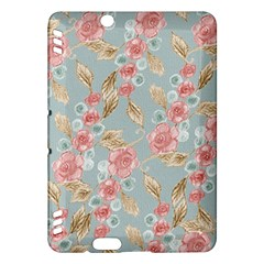 Background Page Template Floral Kindle Fire Hdx Hardshell Case