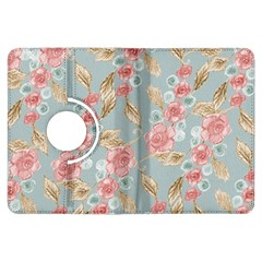 Background Page Template Floral Kindle Fire Hdx Flip 360 Case