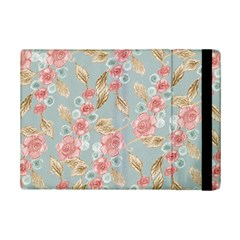 Background Page Template Floral Ipad Mini 2 Flip Cases