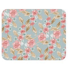 Background Page Template Floral Double Sided Flano Blanket (medium)