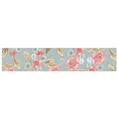 Background Page Template Floral Flano Scarf (small)