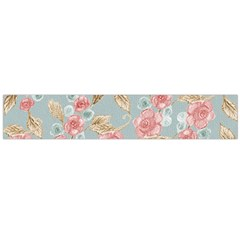 Background Page Template Floral Flano Scarf (large)