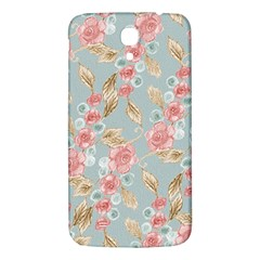 Background Page Template Floral Samsung Galaxy Mega I9200 Hardshell Back Case