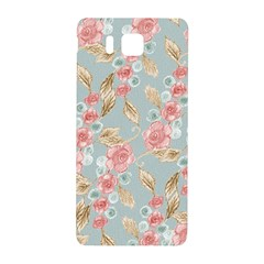 Background Page Template Floral Samsung Galaxy Alpha Hardshell Back Case