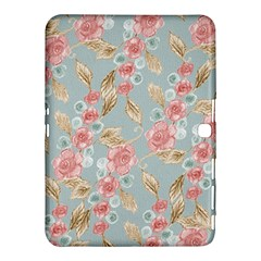 Background Page Template Floral Samsung Galaxy Tab 4 (10 1 ) Hardshell Case