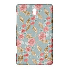 Background Page Template Floral Samsung Galaxy Tab S (8 4 ) Hardshell Case