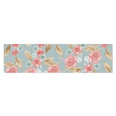 Background Page Template Floral Satin Scarf (oblong)