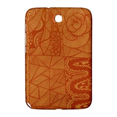 Burnt Amber Orange Brown Abstract Samsung Galaxy Note 8 0 N5100 Hardshell Case