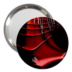 Fractal Mathematics Abstract 3  Handbag Mirrors
