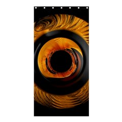 Fractal Mathematics Abstract Shower Curtain 36  X 72  (stall)