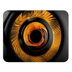 Fractal Mathematics Abstract Double Sided Flano Blanket (large)