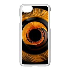 Fractal Mathematics Abstract Apple Iphone 7 Seamless Case (white)