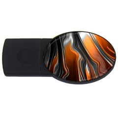 Fractal Structure Mathematics Usb Flash Drive Oval (2 Gb)