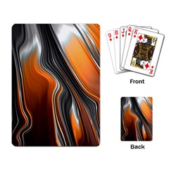 Fractal Structure Mathematics Playing Card