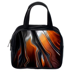 Fractal Structure Mathematics Classic Handbags (one Side)