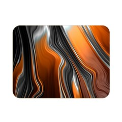Fractal Structure Mathematics Double Sided Flano Blanket (mini)